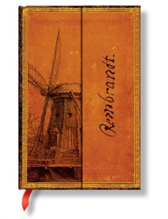 Zápisník - Rembrandt, The Windmill Wrap, ultra 180x230