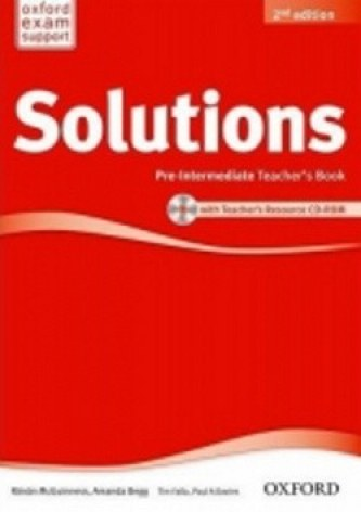 Maturita Solutions Pre-Intermediate 2nd Ed. Teacher´s book - Tim Falla; P.A. Davies; R. McGuinnes