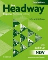 New Headway Third Edition Beginner Workbook with key + Audio CD Pack