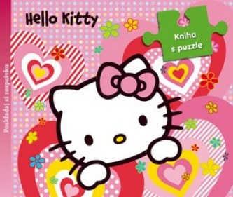 Hello Kitty Kniha s puzzle