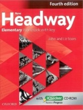 New Headway Fourth edition Elementary Workbook with key with iChecker CD pack