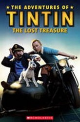 Popcorn ELT Readers 3: The Adventures of Tintin - The Lost Treasure with CD