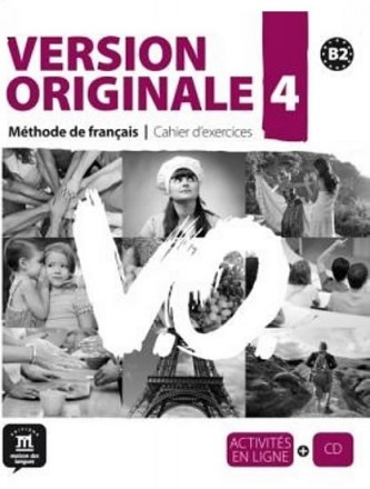 Version Originale 4 – Cahier dexercices + CD