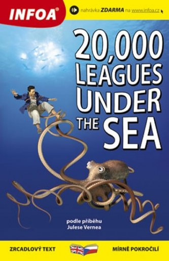 20 000 mil pod mořem/20,000 Leagues Under the Sea - Zrcadlová četba - Jules Verne