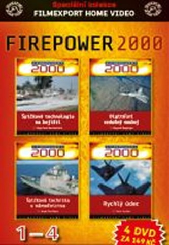 DVD set - Firepower 1.- 4.