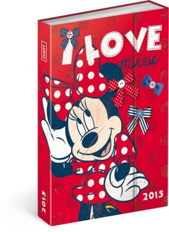 Diář 2015 - W. Disney Minnie