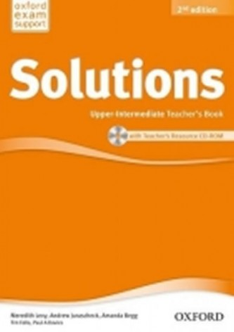 Maturita Solutions Upper-intermediate Teacher's Book with Teacher's resource CD