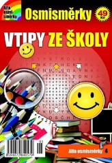 Osmisměrky 4 - Vtipy ze školy