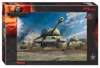 Puzzle 560 World of Tanks - neuveden