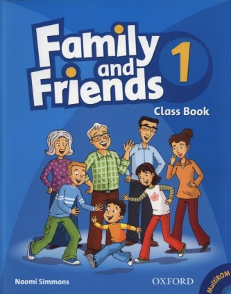 Family and Friends 1 Classbook + Multirom