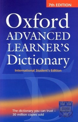 Oxford Advanced Learner´s Dictionary -7th edition