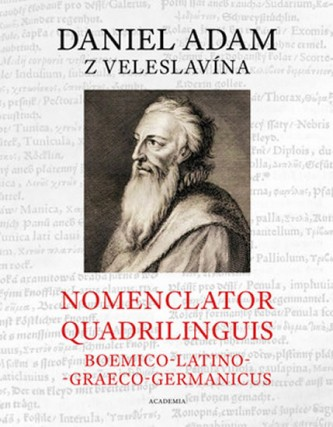 Nomenclator quadrilinguis Boemico-Latino-Graeco-Germanicus + CD