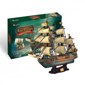 Puzzle 3D The Spanish Armada San Felipe