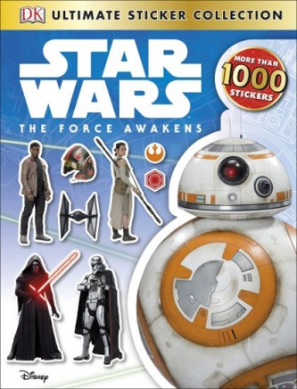 Star Wars - The Force Awakens Ultimate Sticker Collection - neuveden