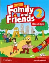 Family and Friends 2nd Edition 2 Course Book with MultiROM Pack
