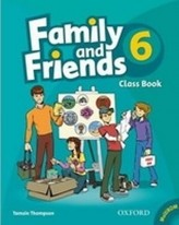Family and Friends 6 Course Book with MultiRom Pack