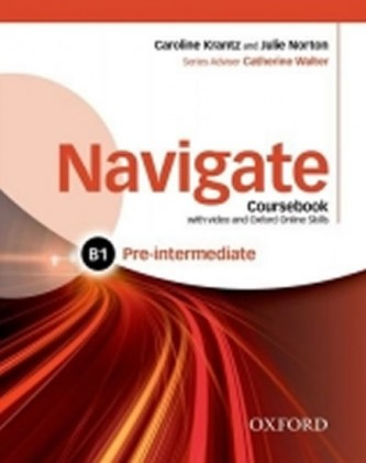 Navigate Pre-intermediate B1: Coursebook with DVD-ROM and OOSP Pack
