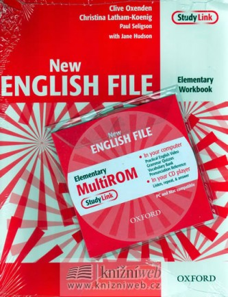 New English file elementary Workbook Key + CD ROM pack