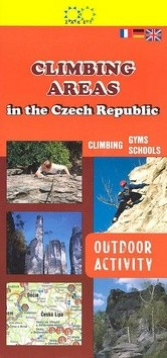 Climbing areas in the Czech republic