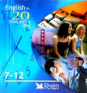 English in 20 minutes a day 7-12 + aktovka + 6CD