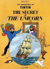 The Adventures of Tintin - The Secret of the Unicorn. Das Geheimnis der 'Einhorn', englische Ausgabe