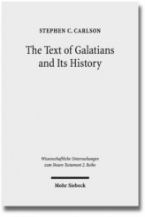 The Text of Galatians and Its History