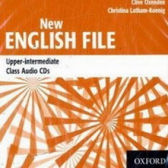 New English File Upper-Intermediate Class Audio CD's - Kolektiv autorů