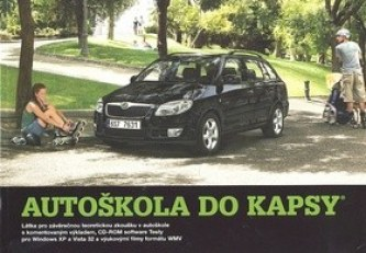 Autoškola do kapsy + CD ROM