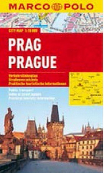 Prag/Prague - City Map 1:15000
